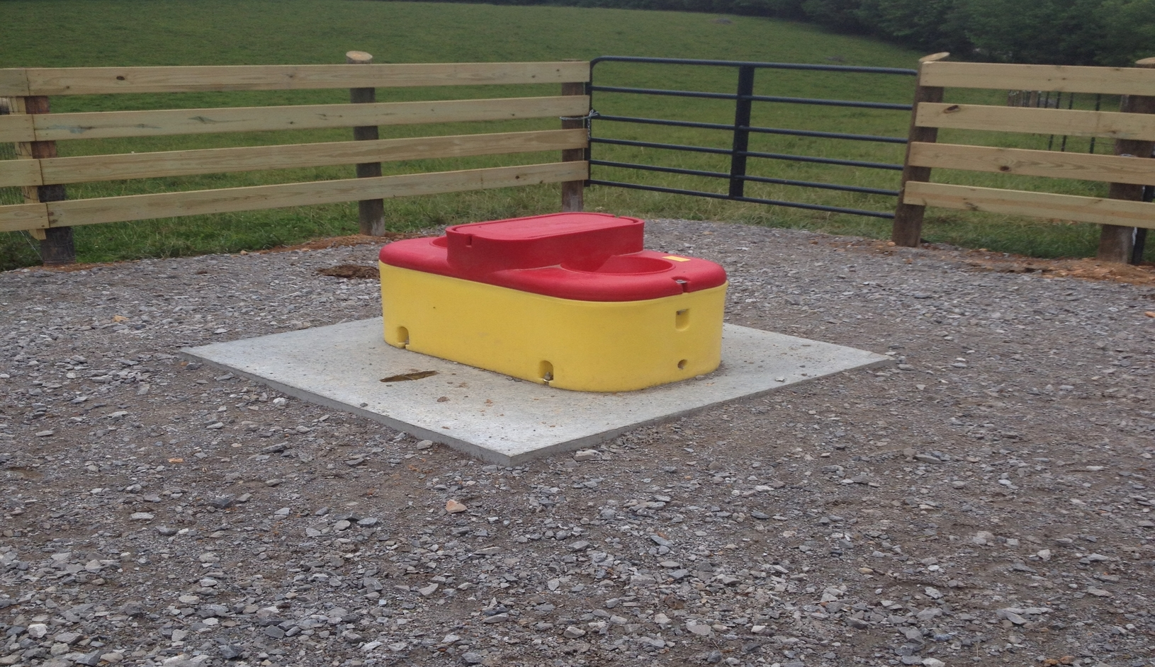 4-Pad Waterer installed using 319 funds