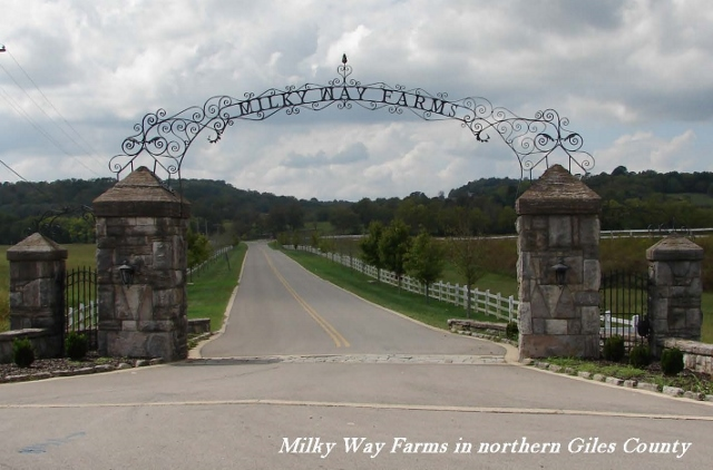 Milky Way Farm in Lynnville, TN