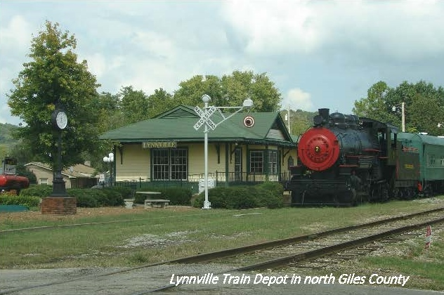 Old Train Station in Lynnville, TN